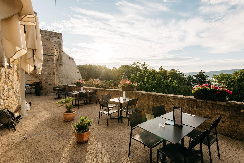 café restaurant le chatelet au chateau de grandson