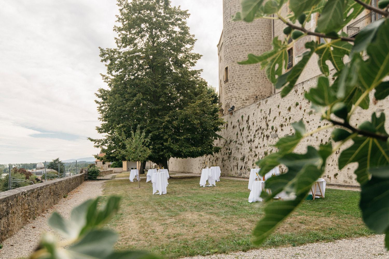 Les jardins du Château de Grandson