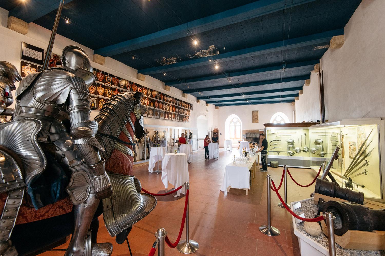 Salle d'Armes du Château de Grandson
