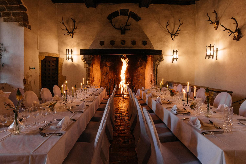 Salle des banquets du Château de Grandson