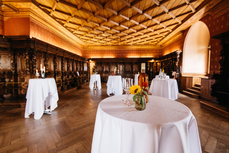 Salle des Chevaliers du Château de Grandson